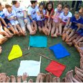Crianças da IAM promoveram campanha