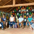 Jangada reivindica medidas socioambientais durante Festa
