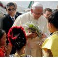 Papa Francisco realiza primeira visita de um pontífice a Mianmar