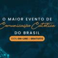 Continuam abertas as inscrições ao Mutirão de Comunicação 2021, Evento gratuito e em formato 100% online